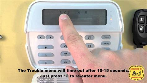 dsc alarm trouble light reset a 1 dsc trouble lights and trouble conditions youtube