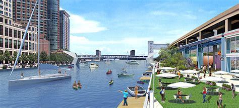Waterfront Floor Plans chicago riverwalk the burnham plan centennial