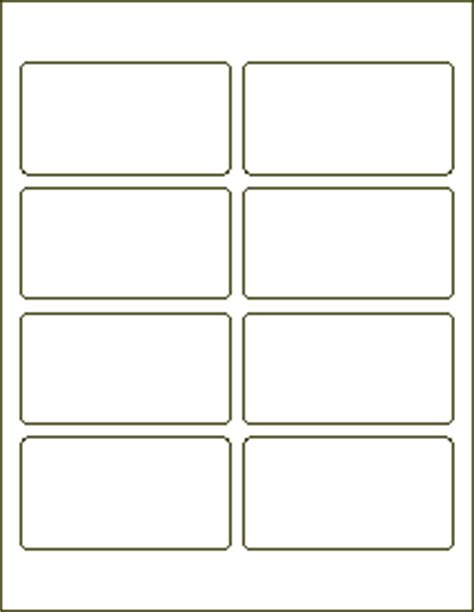 blank template for address labels address labels 3 3 4 x 2 laser label blank labels