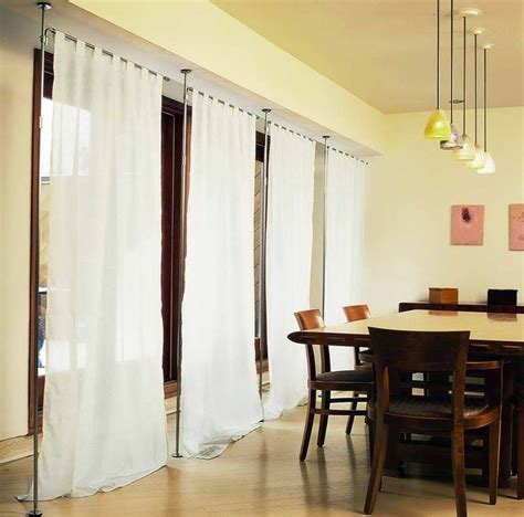 ceiling curtain room divider decor mesmerizing curtain room dividers for home