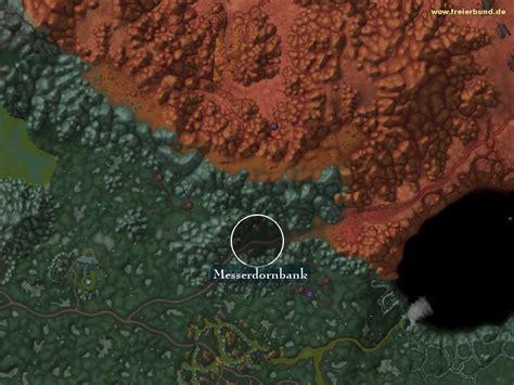 Wow Razorthorn Shelf by Messerdornbank Landmark Map Guide Freier Bund