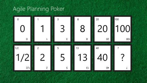 printable planning poker cards agile planning poker app for windows in the windows store