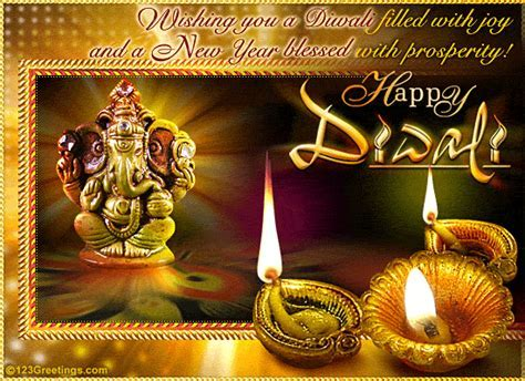 Happy Diwali And Joyous New Year! Free Happy Diwali Wishes