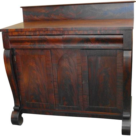 Empire Sideboard american empire mahogany server or sideboard from breadandbutter on ruby