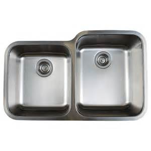 Stainless Steel Undermount Kitchen Sinks Shop Blanco Stellar Stainless Steel Basin Undermount Kitchen Sink At Lowes