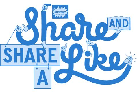 Facebook Share Giveaway - introducing the share and share a like contest hubpages blog