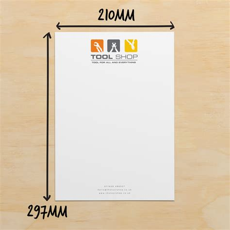 business letterhead size letterhead size letterhead sizes adjust your picture