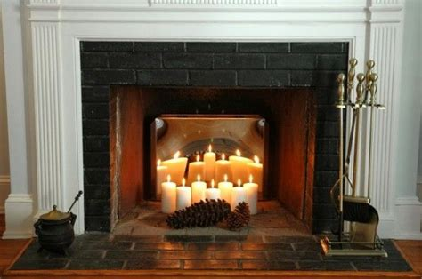 Decorating Ideas For Non Working Fireplace Creative Ways To Decorate Your Fireplace