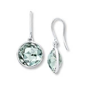 green amethyst earrings jared green quartz earrings sterling silver