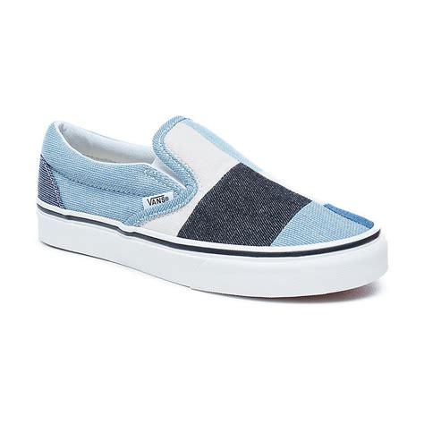 Vans Denim Slip On sneakers vans classic slip on patchwork denim snowboard