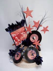 motown themed party centerpieces designs by ginny