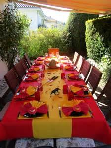 d 233 co de table espagnole d 233 co de table 224 th 232 mes