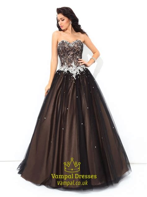 chocolate brown floor l chocolate brown floor length strapless beaded embellished