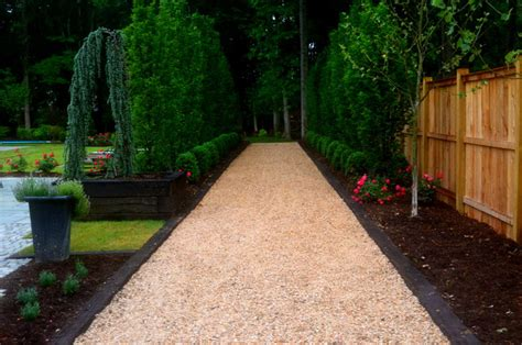 Railroad Tie Landscaping Ideas European Hornbeam Lined Boulevard W Railroad Ties Traditional Landscape Dc Metro By
