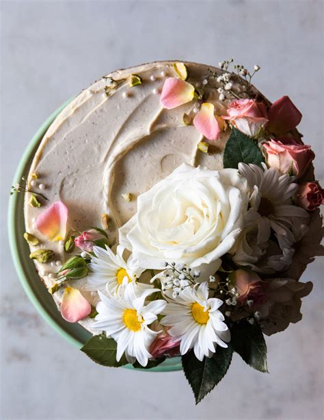 wedding cake flower top how to make a cake style sweet ca