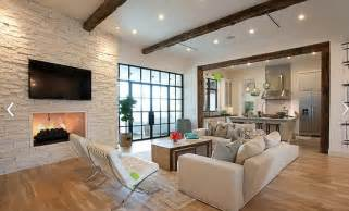 Area Rugs Austin Texas White Brick Wall Living Room Design Home Interiors