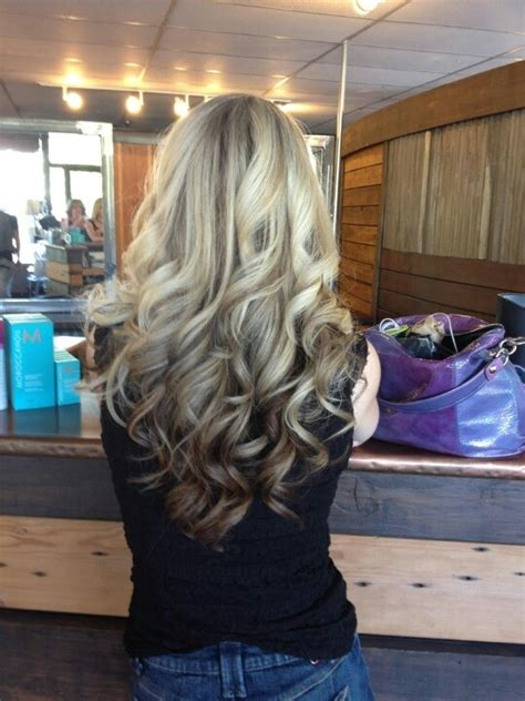 reverse ombrepics walls copper countertop and i love her hair too lol