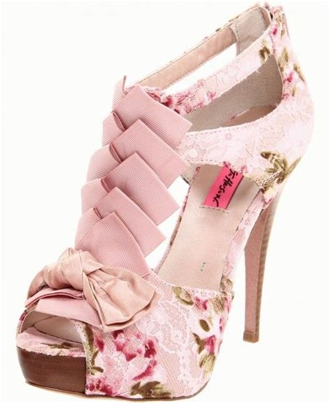 Dear Fashion Betsey Shoes by 17 Best Ideas About Pink Shoes On Shoes