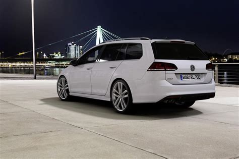 volkswagen golf variant volkswagen golf variant and scirocco updated with r line