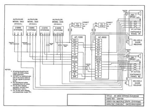 Gallery Of Elvox Intercom Wiring Diagram Sample