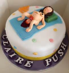Giving Birth Baby Shower Cake vulgar baby shower cake giving birth a