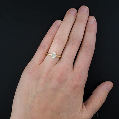 1 ct oval ring on 95 carat oval ring