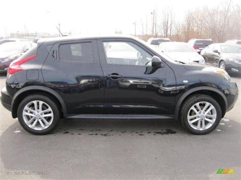 nissan juke black sapphire black 2011 nissan juke sl awd exterior photo