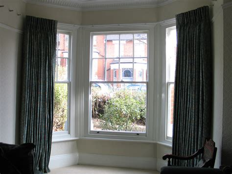 corded bay window curtain track changing curtains