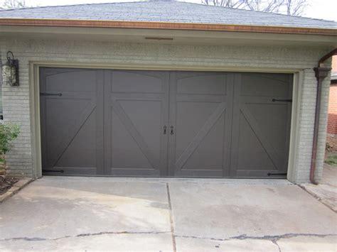 Trotter Overhead Door Custom Smart Trim Craftsman Garage Oklahoma City By Trotter Overhead Door Garage Home
