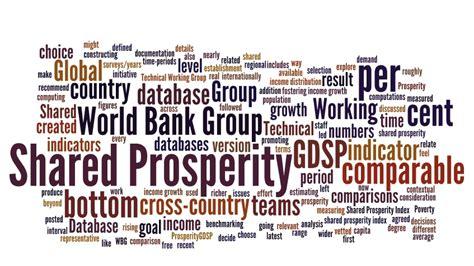 database world bank global database of shared prosperity