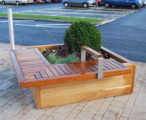 planter bench seat planter with bench seat how to build a wood storage cabinet