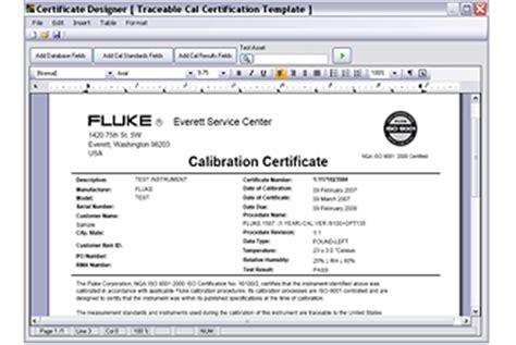 calibration software for 5080a multi product calibrator