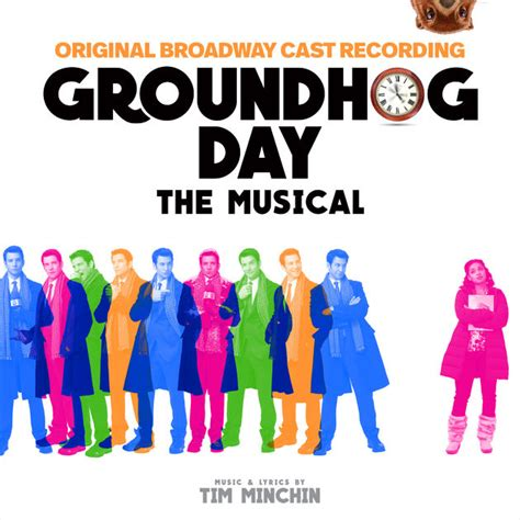 groundhog day cast musical groundhog day the musical original broadway cast