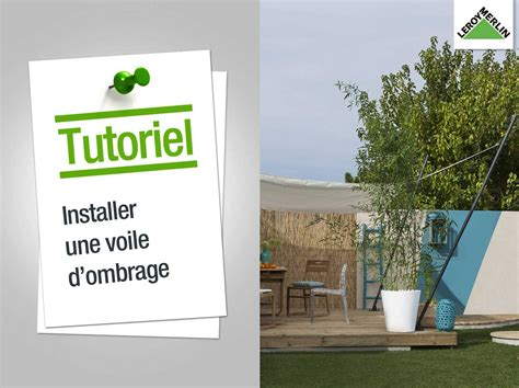 Installer Un Voile D Ombrage by Parasol Tonnelle Et Voile D Ombrage Leroy Merlin