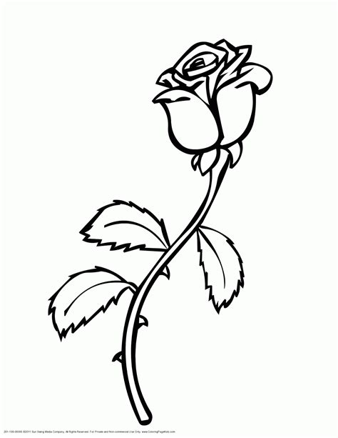 coloring pages flower free printable coloring pages