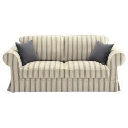 sofa ausziehbar canap 233 convertible 3 places en coton beige 224 rayures gris
