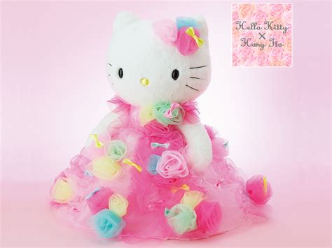 Movie Theater Decor For The Home Hello Kitty X Hany Ito Collaboration Wedding Plush Doll