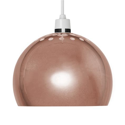 Copper Retro Arco Style Dome Ceiling Pendant Light Shade Copper Shade Pendant Light