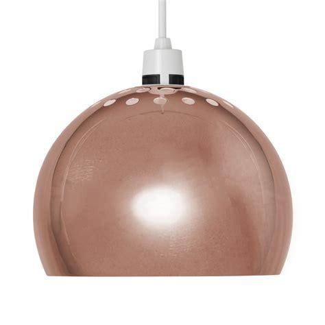Copper Retro Arco Style Dome Ceiling Pendant Light Shade Copper Pendant Light Shades