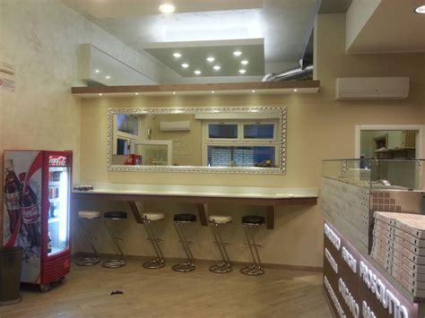 impianto di illuminazione impianto elettrico e di illuminazione pizzeria da asporto