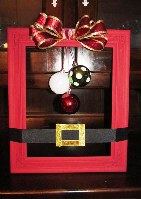 a cutie idea for a christmas picture fram 1000 images about cool framing ideas on custom framing shadow box and frames