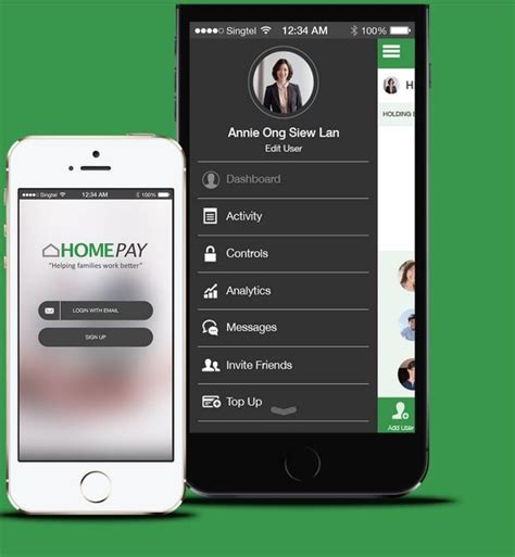 homepay singapore helps families manage their finances and