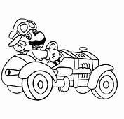 Dibujos Para Colorear De Mario Kart 7  Imagui