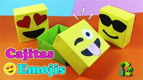como hacer un fondo con emojis youtube diy cajas dulceros emojis con origami ecobrisa diy youtube