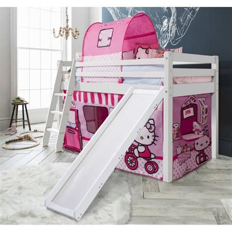 hello kitty headboard for sale hello kitty cabin bed with slide tent noa nani