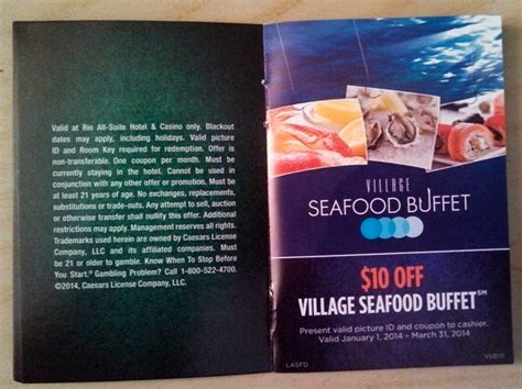 Coupon Seafood Mark S Las Vegas Harrah S Buffet Coupons