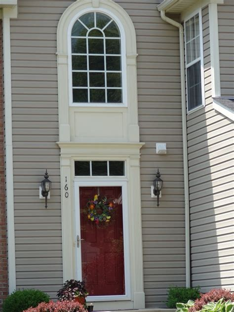 Foyer Window Privacy by Decorative Arched Fan Circular Fan Palladian