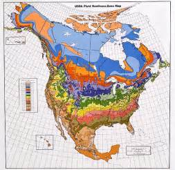 growing zones map america pacific bulb society hardiness zone maps