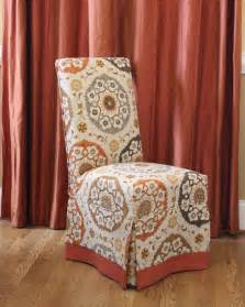 Patterned Club Chair Design Ideas Dining Room Interesting Patterned Parsons Chair