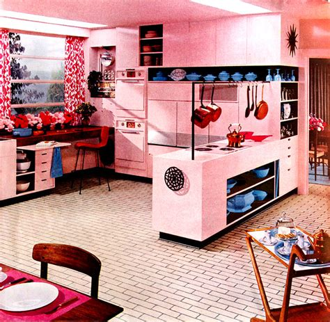 Kitchen Colors Of The 1950 S Expo 67 Lounge